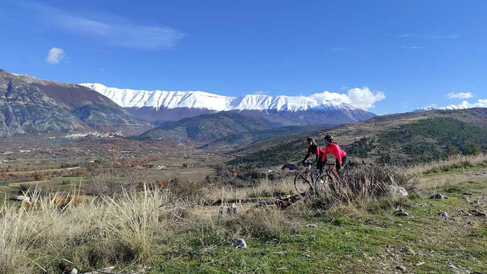 In giro per l'Abruzzo con Santacroce Ovidius Bike Team