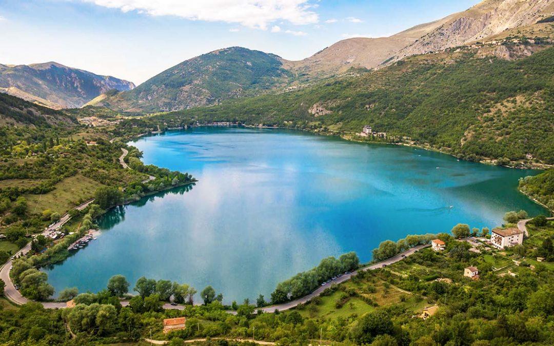 Lake Scanno (L'Aquila, Italy)